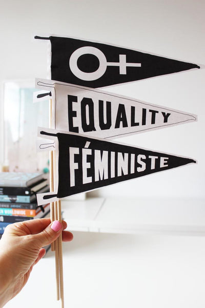 Feminist Equality Printable Pennants for the Women's March