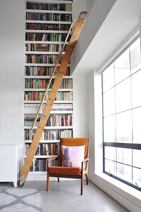 Stairway to Book Heaven - Book Shelf Porn