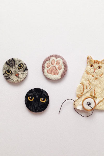 Tiny Embroidery by ipnot on Instagram