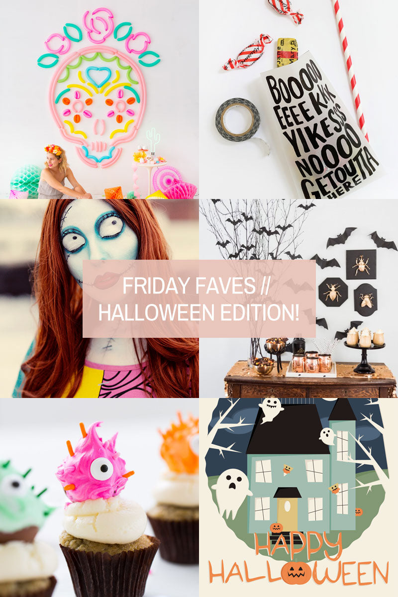 Friday Favourites // Halloween Edition!