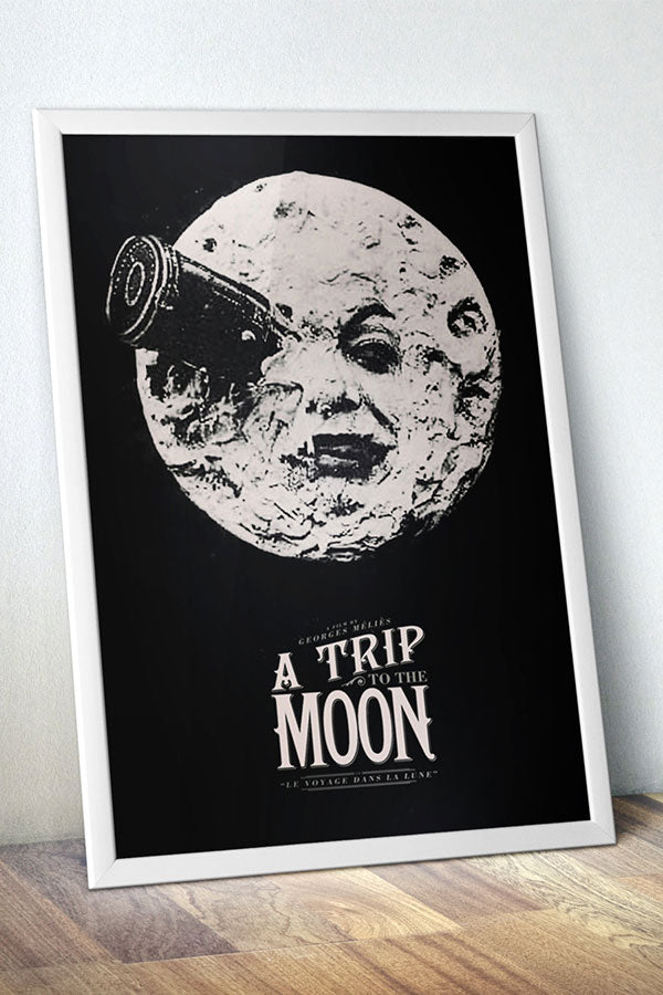 Georges Méliès' A Trip to the Moon Art Print / Poster