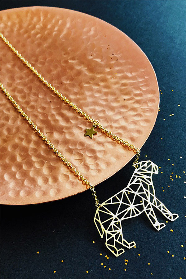 Bai Hu The White Tiger Constellation Necklace by Eclectic Eccentricity