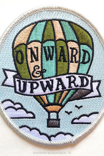 Embroidered Patches by Hannah Rosengren Studio