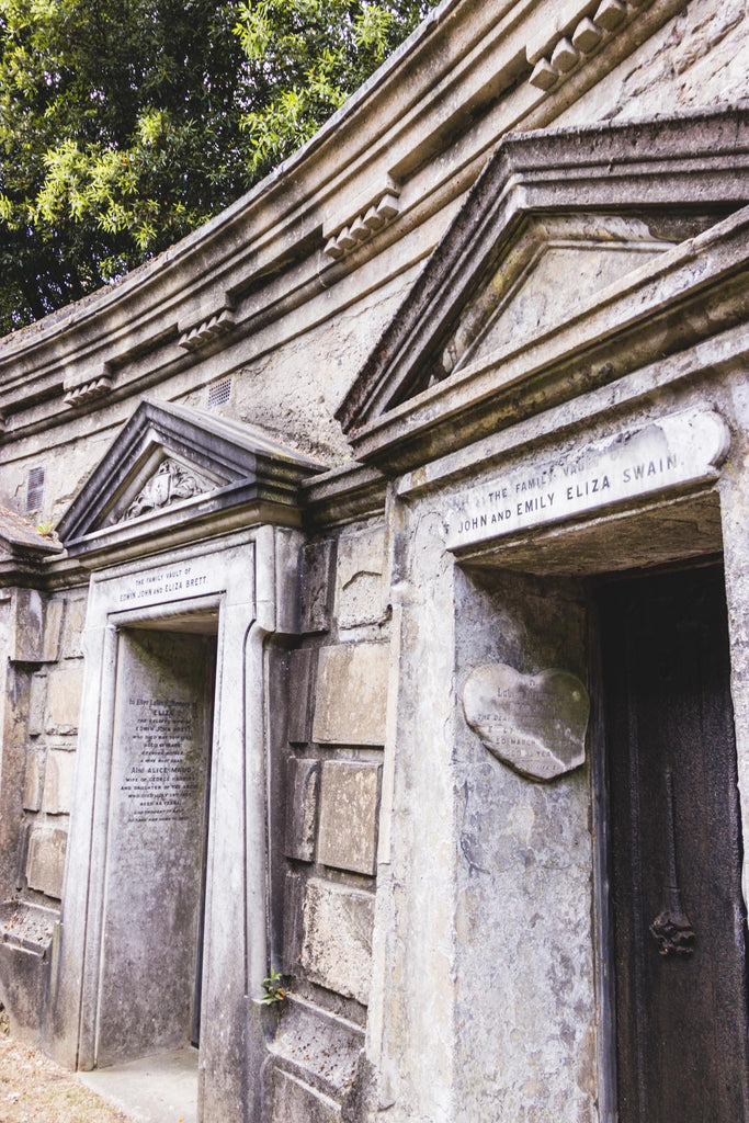 Highgate Cemetery, West Cemetery - Circle of Lebanon