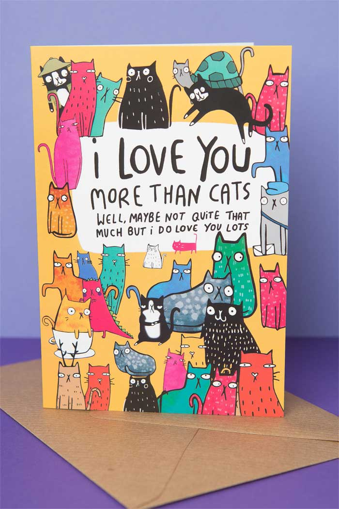 I Love You More Than Cats by Katie Abey