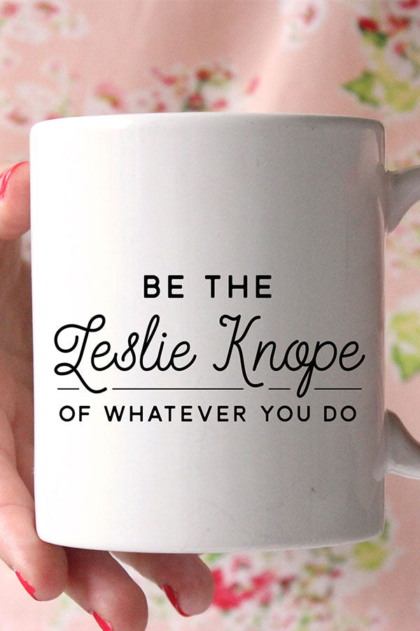 Leslie Knope / Parks and Rec Mug