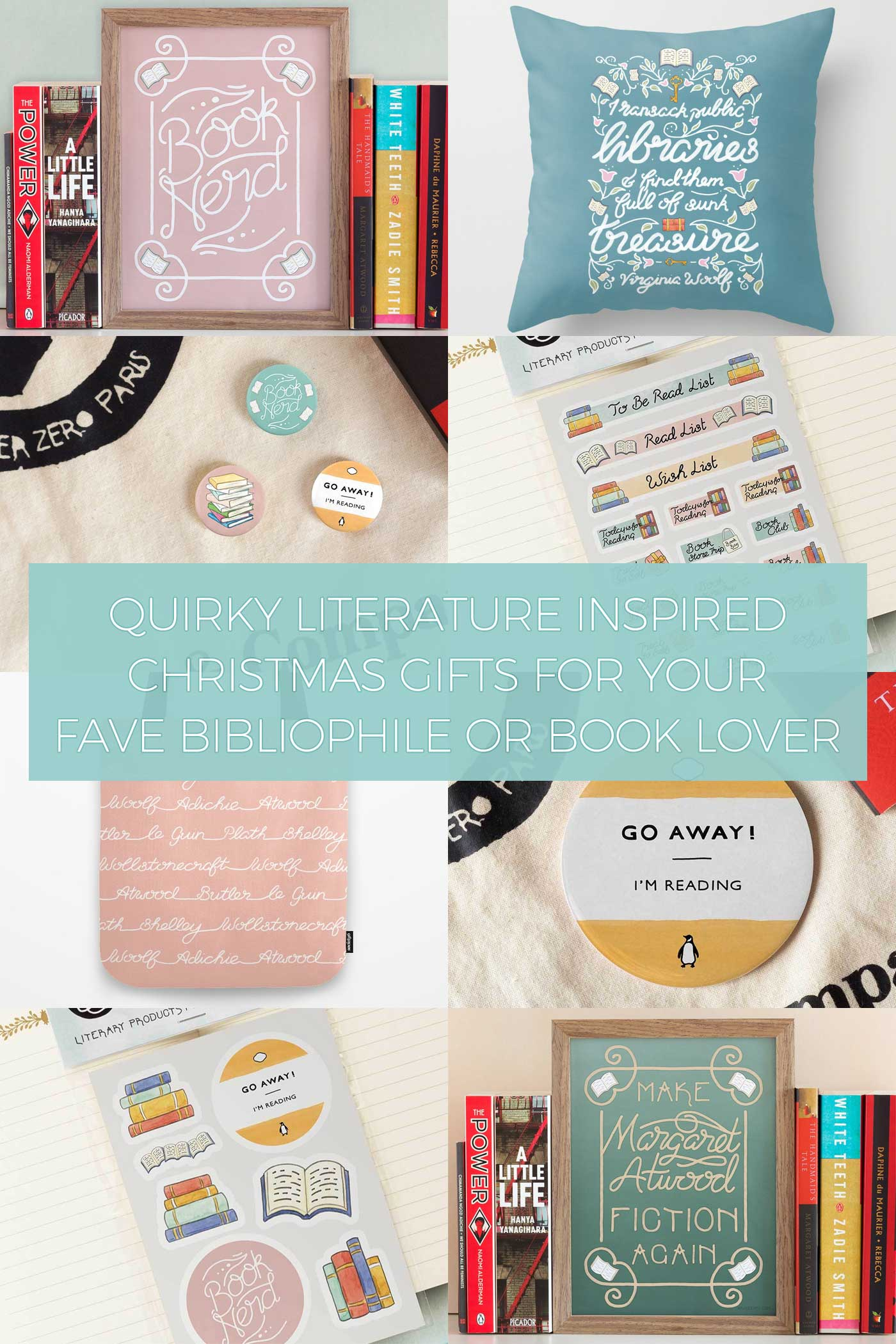 Quirky Literature Inspired Christmas Gifts for your