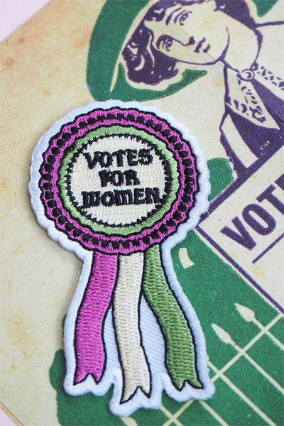Votes for Women Feminist Patch