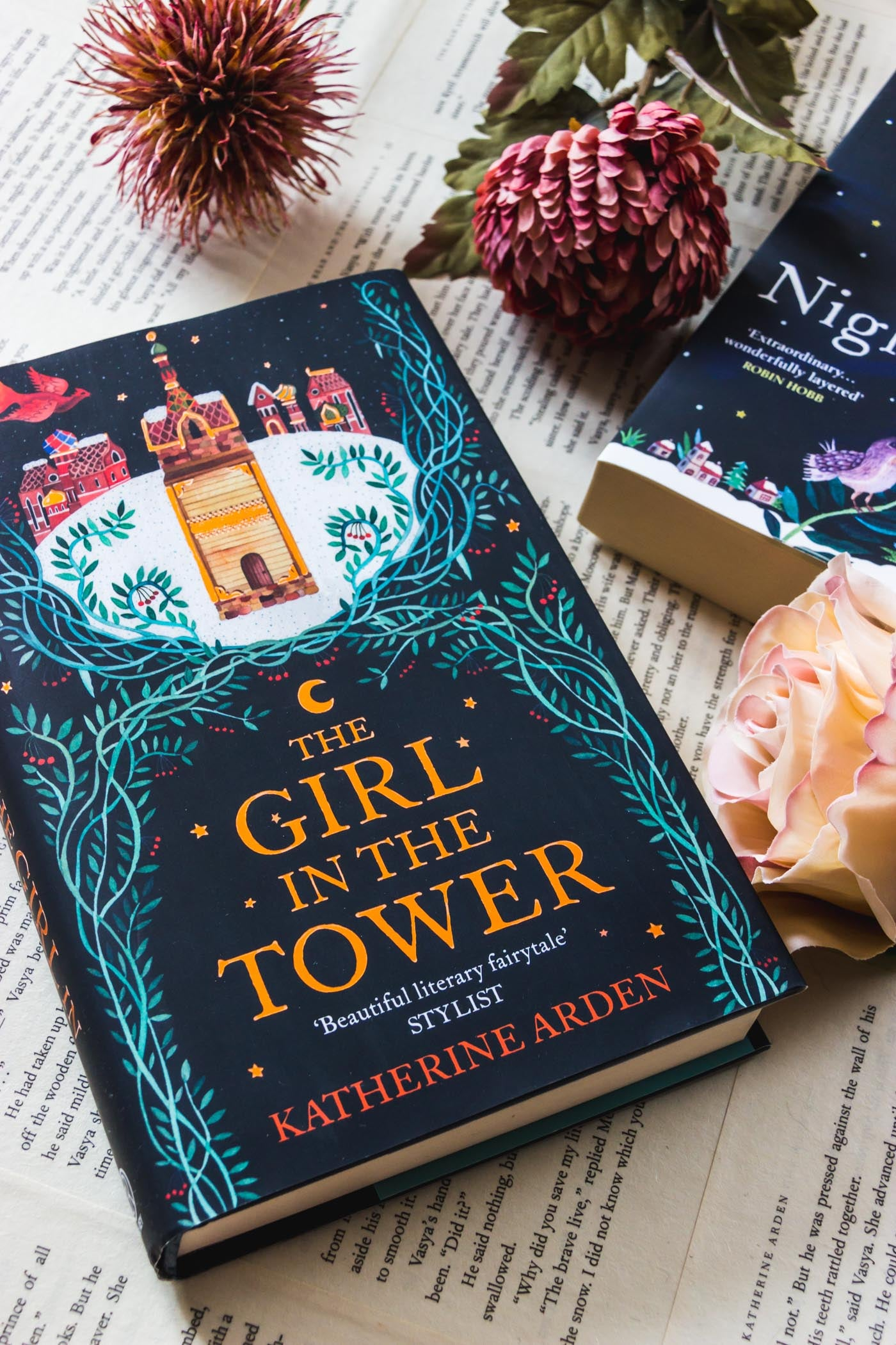 The Bear & the Nightingale and The Girl in the Tower by Katherine Arden (Winternight Trilogy)