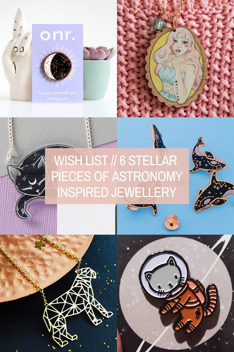 Wish List // 6 Stellar Pieces of Astronomy-Inspired Jewellery