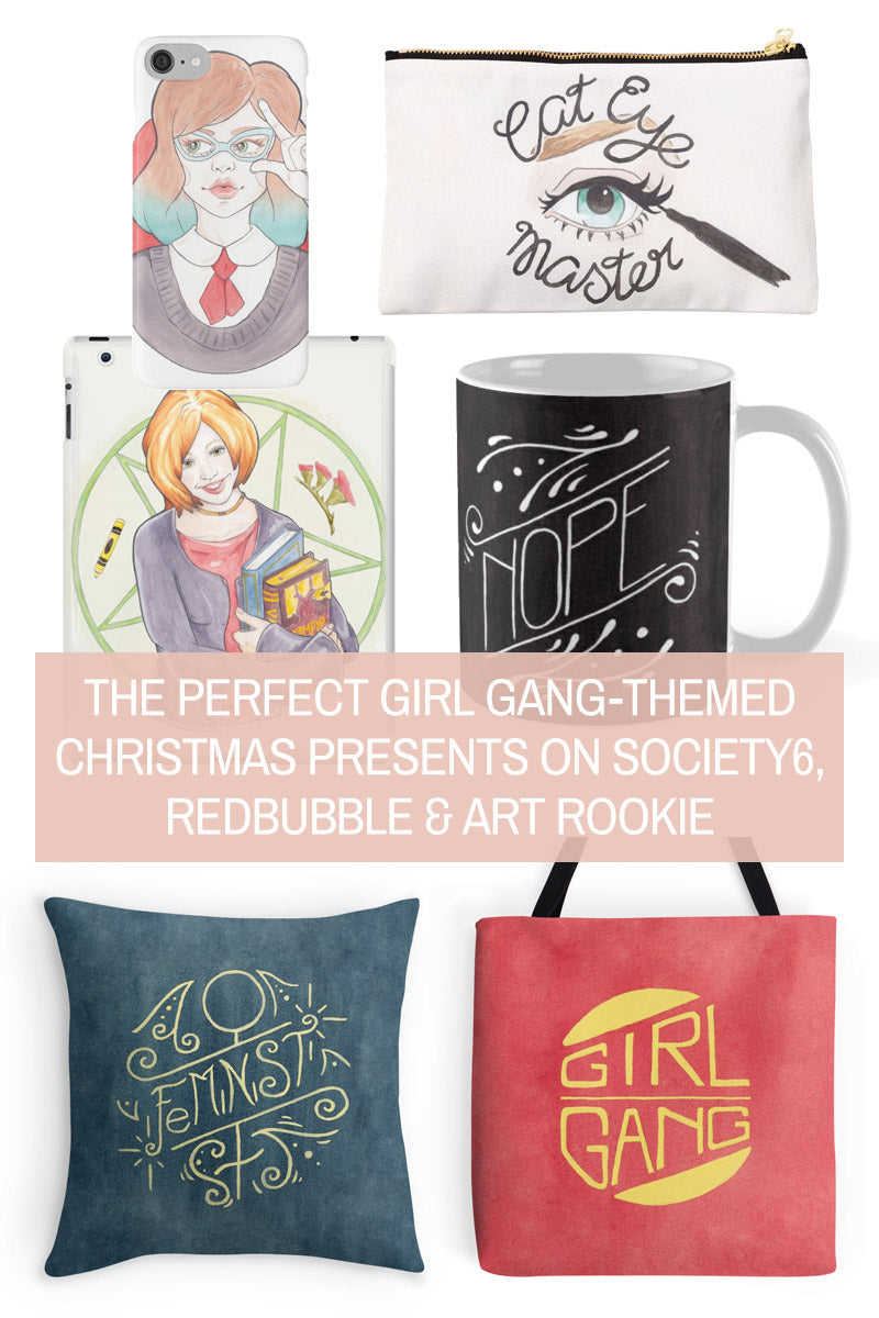 Wish List // 9 Christmas Gifts that Celebrate Strong, Independent Women