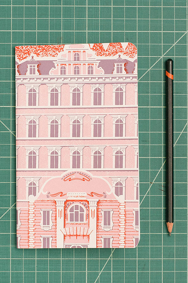 Grand Budapest Hotel Notebook by FamilyTree