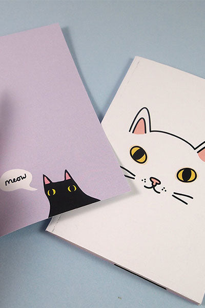 Cat Inspired Notebooks from ilikecats