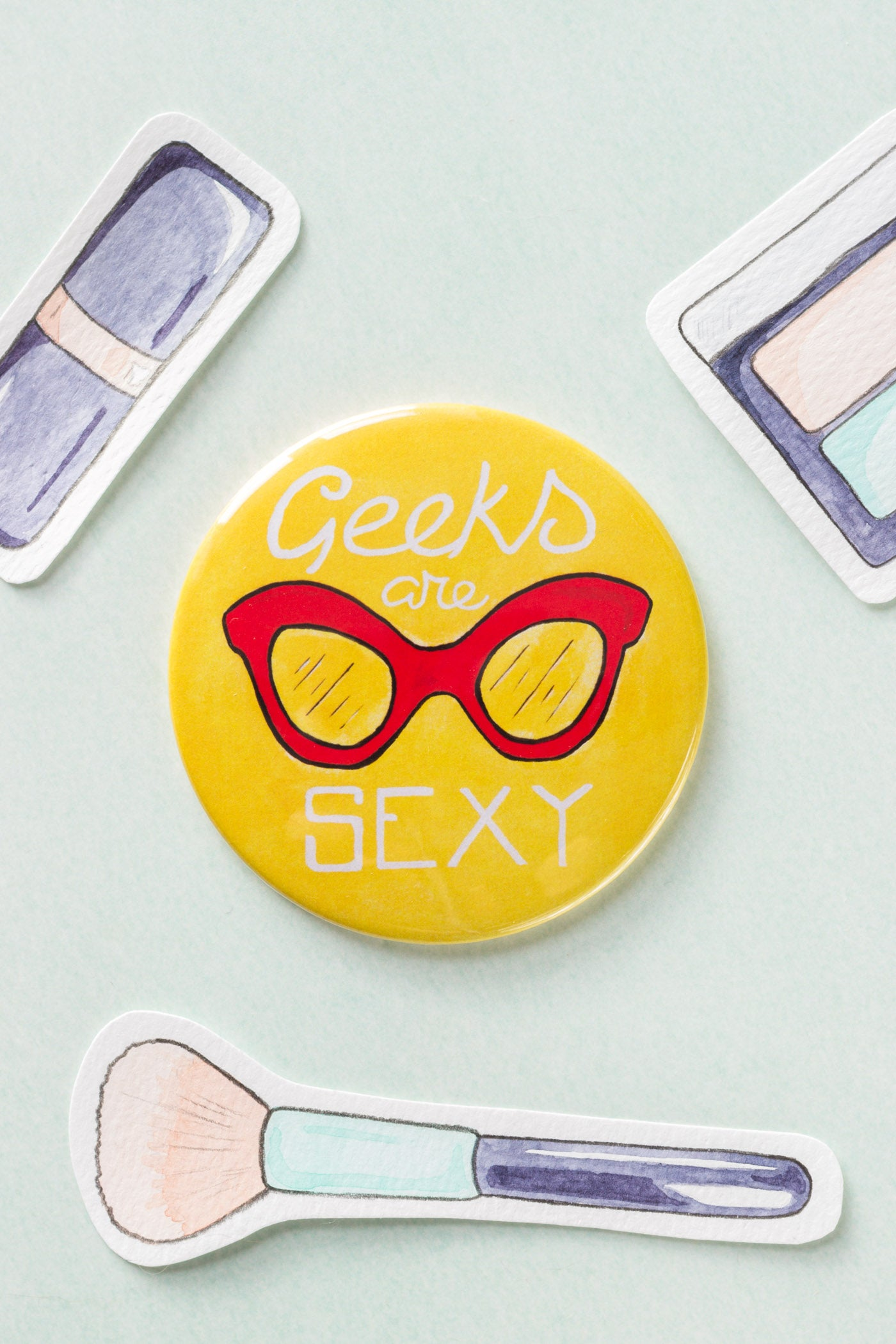 Geeks are Sexy Pocket Mirror