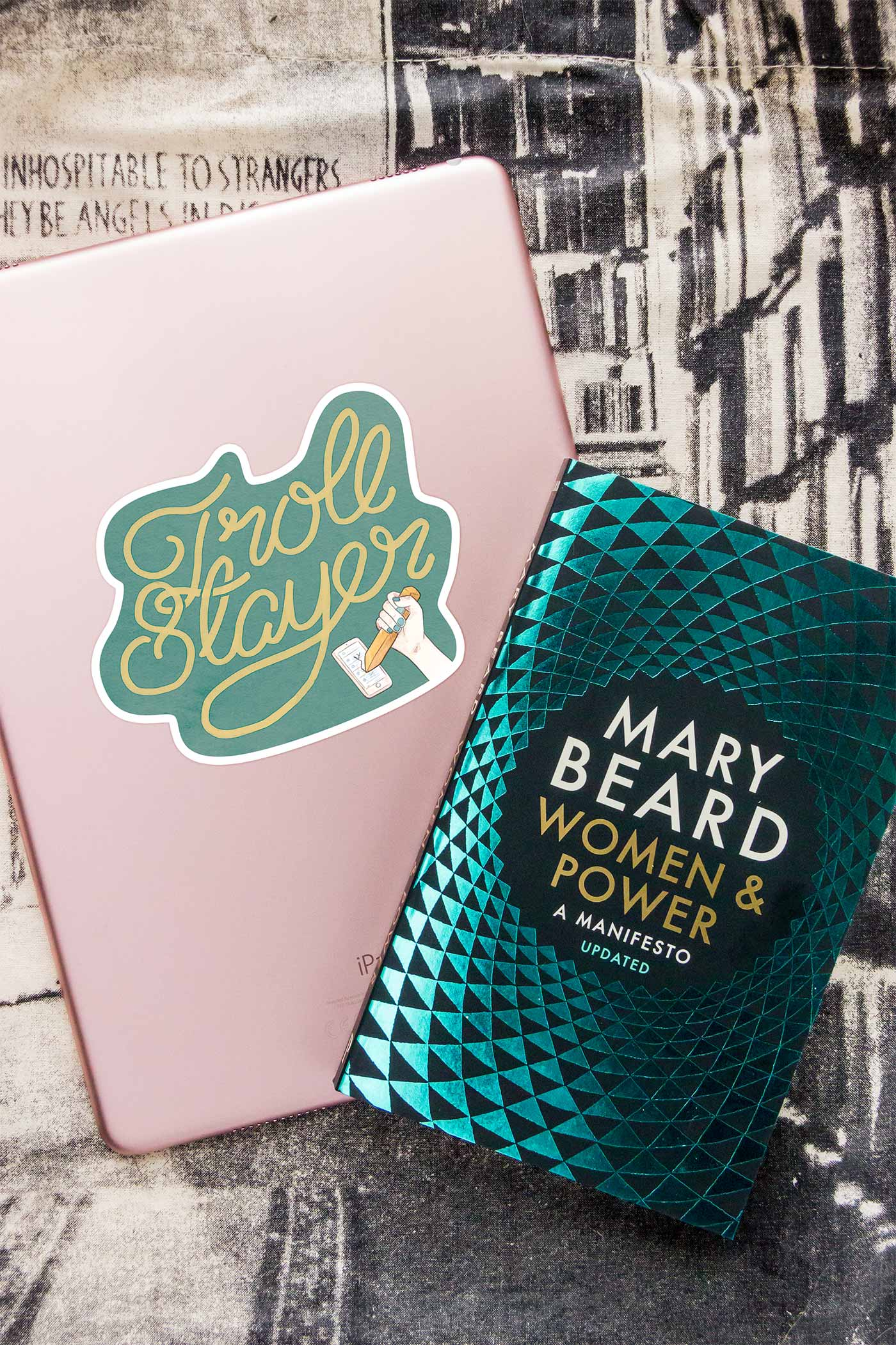 Troll Slayer / Mary Beard Power & Women Sticker
