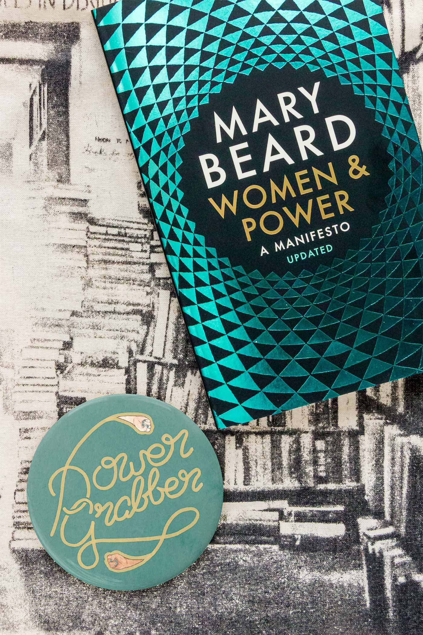 Power Grabber / Mary Beard Power & Women Pocket Mirror
