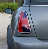 Gen 1 Union Jack Tail Light Sticker - Red Blue-Sticker Blimp Decals