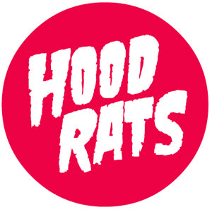 32 Hood Rats Round Sticker-Sticker Blimp Decals