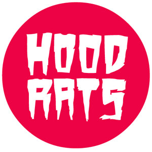 32 Hood Rats Stacked Round Sticker-Sticker Blimp Decals