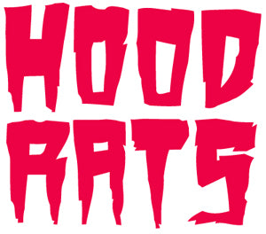 32 Hood Rats Stacked Sticker