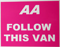AA Follow This Van Sticker-Sticker Blimp Decals