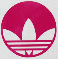 Adidas Round Sticker - sticker blimp decals