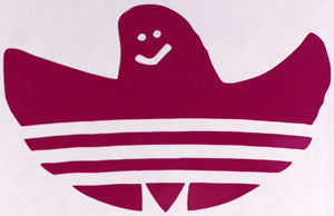 Adidas Shmoo Sticker-Sticker Blimp Decals