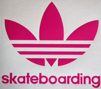Adidas Skateboarding Leaf Sticker - sticker blimp decals