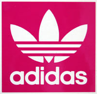 Adidas Square Sticker - sticker blimp decals