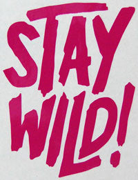 Airblaster Stay Wild Sticker-Sticker Blimp Decals