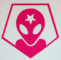 Alien Workshop Archangel Sticker - sticker blimp decals