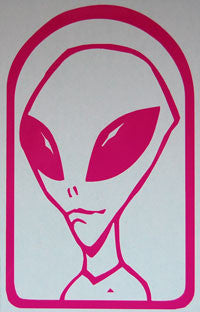 Alien Workshop Believe Sticker-Sticker Blimp Decals