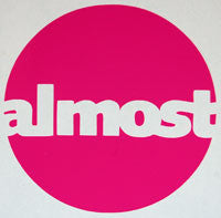 Almost Circle Sticker - sticker blimp decals