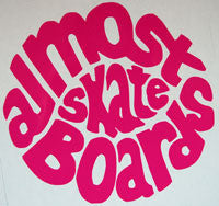 Almost Skateboards Sticker-Sticker Blimp Decals