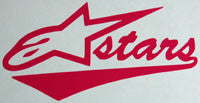 Alpinestars A Stars Fancy Sticker - sticker blimp decals