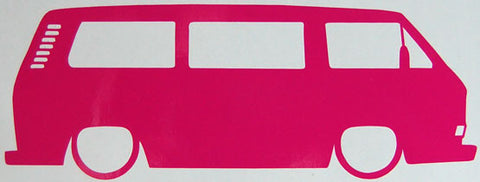 Awesome T25 Camper Van Sticker-Sticker Blimp Decals