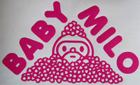 Bape Baby Milo Hearts Sticker-Sticker Blimp Decals