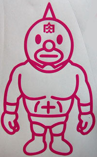 Bape Wrestler Sticker-Sticker Blimp Decals