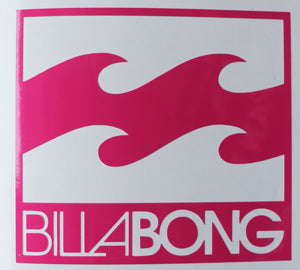 Billabong Badass Sticker-Sticker Blimp Decals