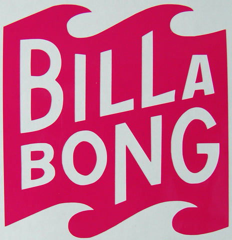 Billabong Multi Solo Sticker-Sticker Blimp Decals