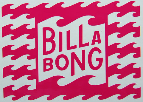 Billabong Multi Sticker-Sticker Blimp Decals
