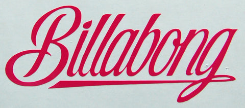 Billabong Script Sticker-Sticker Blimp Decals