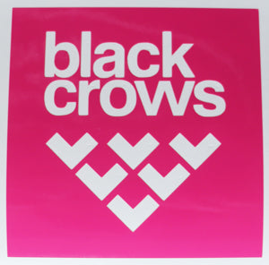 Black Crows Block Sticker-Sticker Blimp Decals