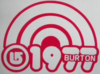 Burton 1977 Sticker-Sticker Blimp Decals