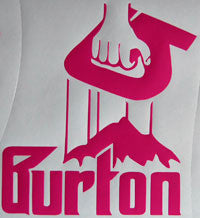 Burton Mafia Sticker-Sticker Blimp Decals