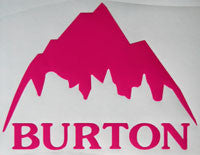 Burton Decal//sticker Snowboards