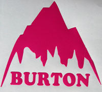 Burton Mountain Retro Sticker-Sticker Blimp Decals