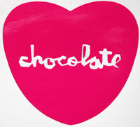Chocolate Heart Sticker-Sticker Blimp Decals