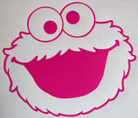 Cookie Monster Sticker-Sticker Blimp Decals
