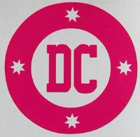 DC Round Sticker-Sticker Blimp Decals